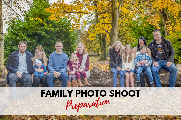 How to prepare for a family photo shoot