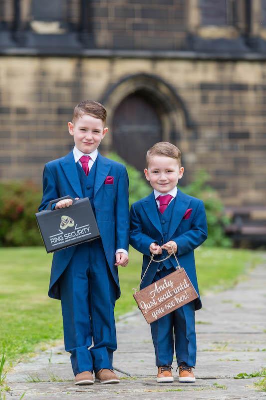 Blythe Wedding 2019 Page Boys