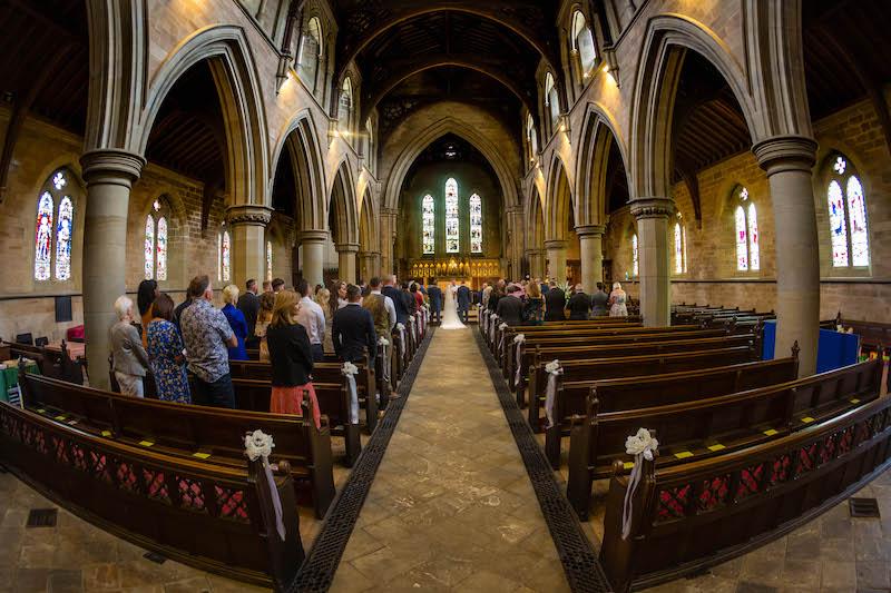 Blythe wedding 2019 church