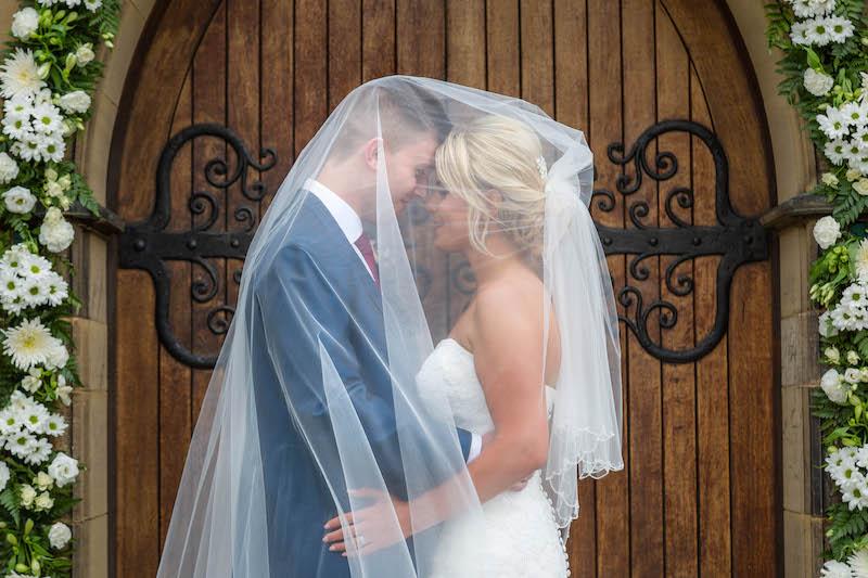 Blythe wedding 2019 veil