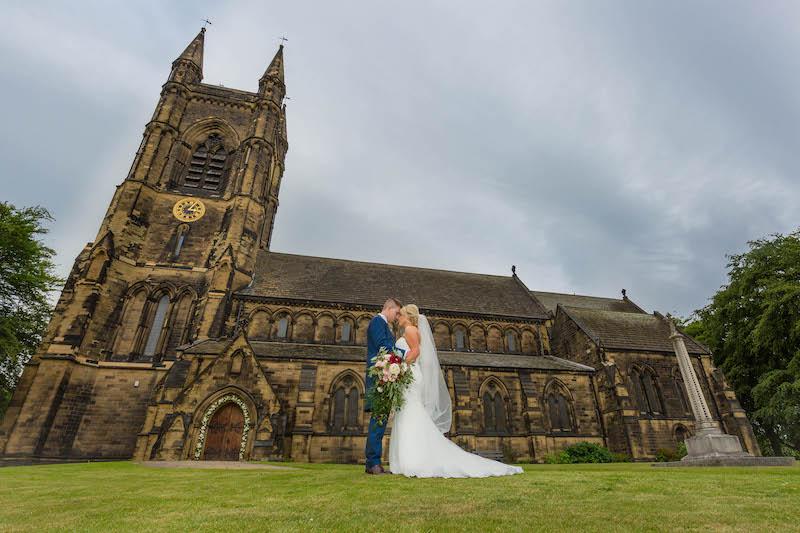 Blythe wedding 2019 church view