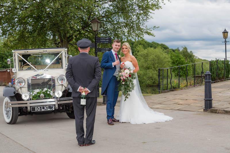 Blythe wedding 2019 Reception arrival