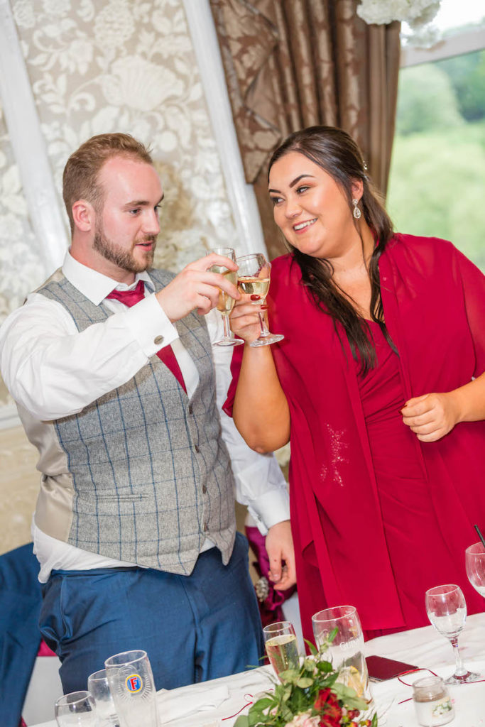 Blythe wedding 2019 speeches