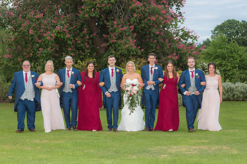 Blythe wedding 2019 Formal Portrait