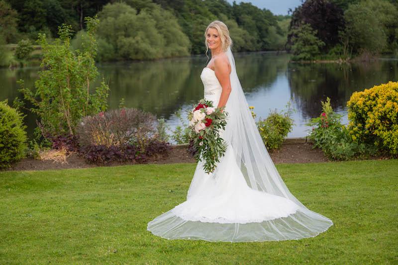 Blythe wedding 2019 Bride portrait