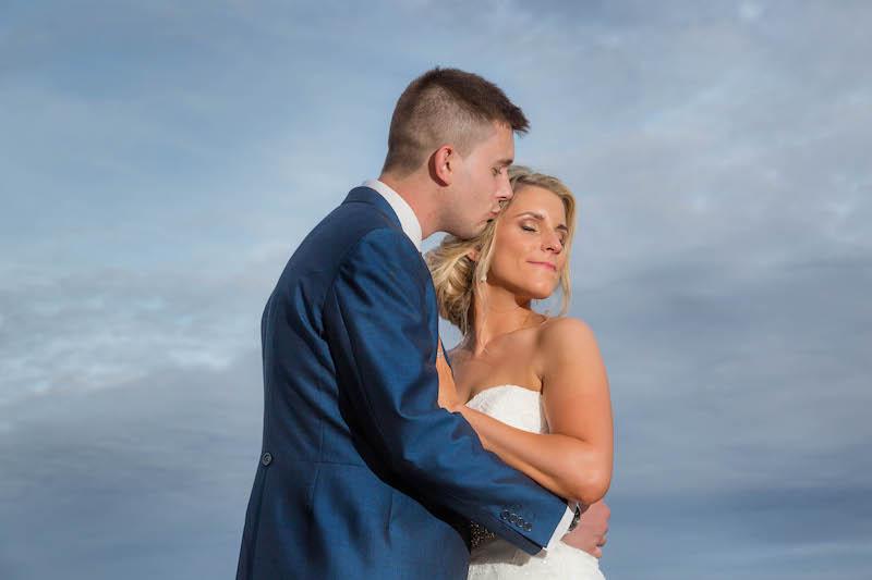 Blythe wedding 2019 Bride and groom portrait