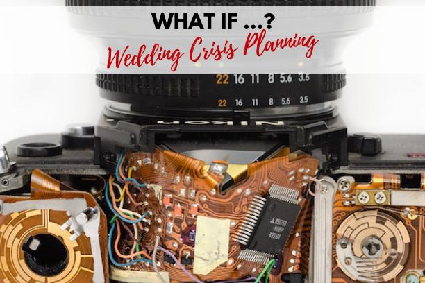 Sugar Photography Wedding Crisis Planning Blog Title