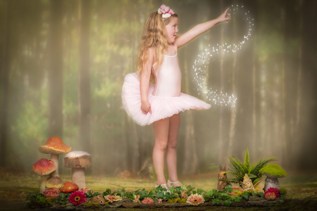 Fairy photoshoot in west Yorkshire