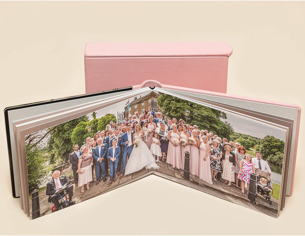 Wedding albums available from Sugar Photography in West Yorkshire