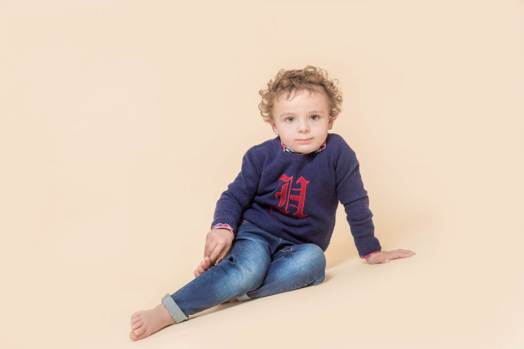 Studio photoshoot for children in West Yorkshire