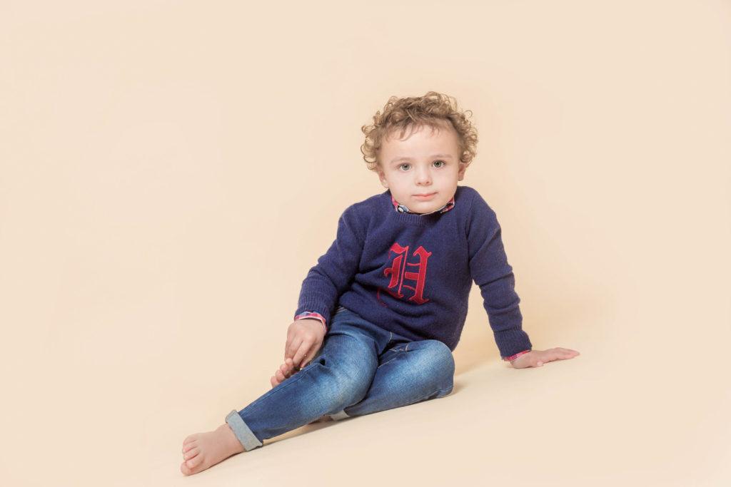 Studio photoshoot for children in West Yorkshire