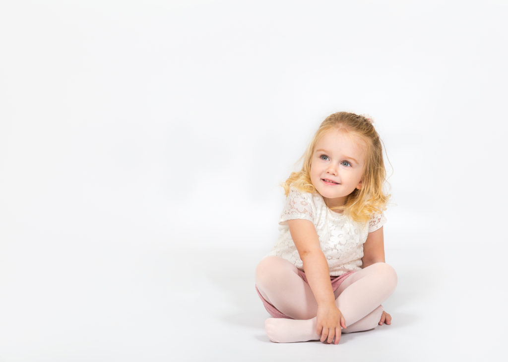 Studio photoshoots for children in Horbury West Yorkshire